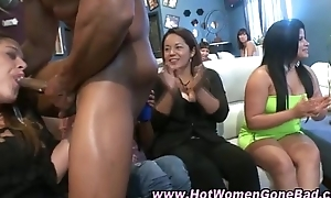 Amateur cfnm bitches drag inflate baneful dick