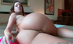 Big irritant babe loves showing her nice