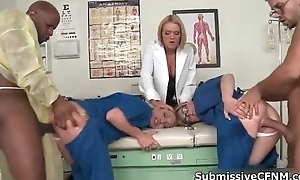 Hot gilt doctor acquires her beloved pussy