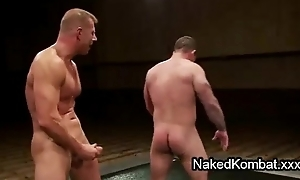 Nude homosexual guys vendetta and asshole fuck on mats