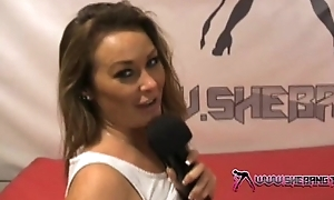 Shebang.TV - Downcast Amanda Rendall playing with her racy pussy