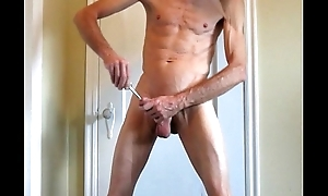 Big In Get under one's Penis and Fucking a Grand Plug
