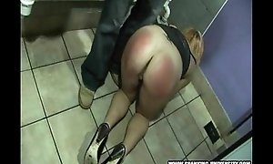 Roxy gets her ass spanked