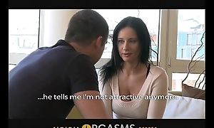 ORGASMS Full-grown woman with big heart of hearts is so horny