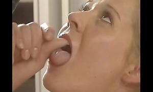 Horny German pornstar Tyra Misoux drilled in the shower
