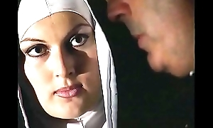 Saleable nun wants a unending cock in her wicked ass
