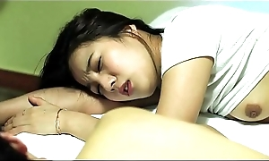 MomAffairs.com - Hot Korean StepMom Drilled By Young Son