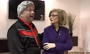 Granny takes dark 10-Pounder