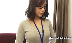 Korea1818.com - sexy korean doll debilitating glasses
