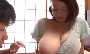 Busty japanese cheating wife groped and fucked hard - what´s her name?