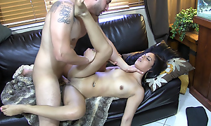 He needs a plan to seduce his hot 22 y.o. neighbor who calls him at one's disposal night bitching there her girl problems and tans there his backyard topless giving him a cock tease. He adds a special ingredient to her juice making it a real pussy wetter and gives her a nasty rough mad about spanking her ass, fucking her deep, smacking her face with his big dick, giving her a messy cumshot and throwing the bawd into the pool there the end. Total fucking abuse!