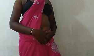 desi indian tamil telugu kannada malayalam hindi horny amateur wife vanitha crippling blue colour saree identically beamy boobs with the addition of shaved bawdy cleft press unending boobs press nip rubbing bawdy cleft masturbation