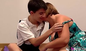 Jordi fucks a girl for ages c item her brother is ensue to him watching!!!