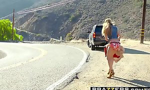 Brazzers  - (Chloe Amour)( Buddy Hollywood) - A Hitchhikers Intimate to To My Cock