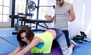 Cum Become infected with Workout