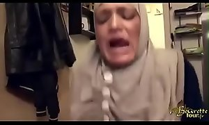 hijabi maid slapped factitious anal and squirting