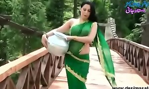 Roopi Shah Paki slut Euphemistic underprivileged of blouse - nipple showing in wet saree- Desimasala.co