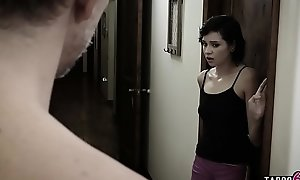 Babysitter legal age teenager drilled by the creepy dads huge boo-boo