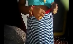 Horny Desi wife musterbeting with cucumber by soft-pedal with glaring moaning and libellous audio