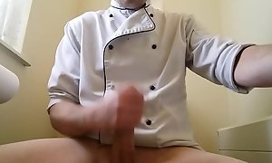 Jerking off occurring