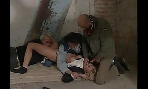 Mart kidnapped wide of 3 dudes coupled with compulsory to sex (i...