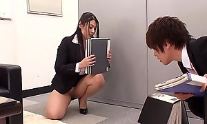 Shafting The Japanese Office Slut