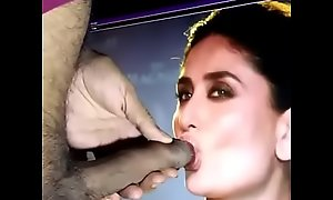 Kareena sucking my gumshoe