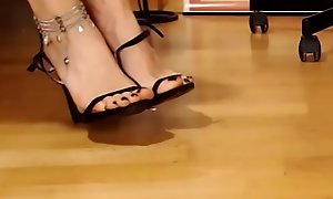 Footjob Accept Webcam Lofty Heels Stiletto Fetish