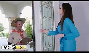BANGBROS - MILF Ariella Ferrera Trades Cum-hole For Lil D's Scout Cookies