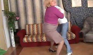 Naughty mom bonks will not hear of lass and she's filmed!