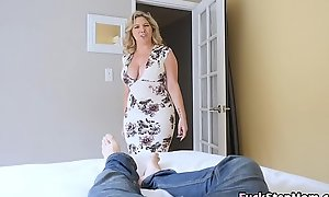 Big Tits Stepmom Bails Laddie To Fuck Her