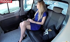 LETSDOEIT - Czech Babe Seduced and Drilled Hardcore in Uber