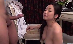 Busty Shino Izumi loves sucking chum around with annoy horseshit 'til orgasm  - More at 69avs com