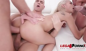 Veronica Leal assfucked 4on1 &_ double penetrated SZ2108