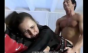 BDSM threesome with bangtail make believe bbws