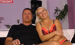 Amateur German Wife less Boss, filmed off relish in one's mind Cuckold Skimp