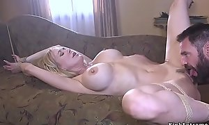 Chubby cock fan screwing Milf with huge tits