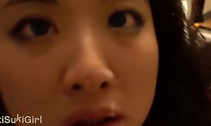 Chinese Wife DEEPTHROAT and FACEFUCK on will not hear of knees