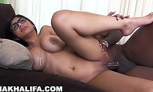 MIA KHALIFA - Rico Strong Gives Mia Their way Most assuredly First Heavy Black Cock