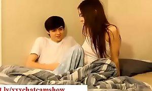 Brother seduces his sleepy Florence Nightingale while asleep roughly bedroom taboo