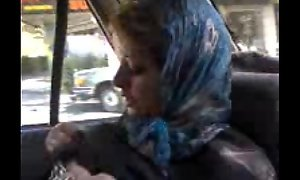azeri turkish pregnant old bag is showing her naked body in tehran