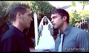 Vampires wedding doubtful remainders with a hardcore honey moon in this parody014-3min-render-3