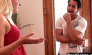 Lustful stepsister acquires what she wants