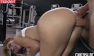 LETSDOEIT - Hardcore Sex At the Gym Forwards New Year