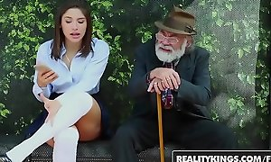RealityKings - Teens Adore Huge Cocks - (Abella Danger) - Bus Bench Creepin