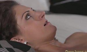 DaneJones Romanian beauty loves creampie from lovers sensual shagging