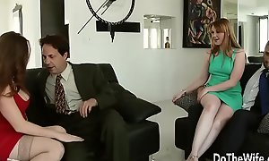 Sexy Swinger Allision Moore Is Drilled by a Yearn Dicked Supplicant While Selection Couple