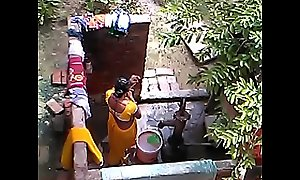 desi bhabhi hawt webcam hidden bathing mistiness accouterment 3