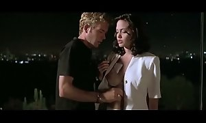Angelina Jolie with reference to Playing God 1997