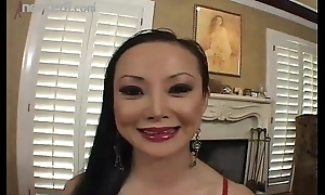 Grown-up Asian Angel Venus Slobs A Knob